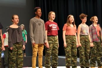 Greek Chorus Rehearsal; AΙAΣ, 2018